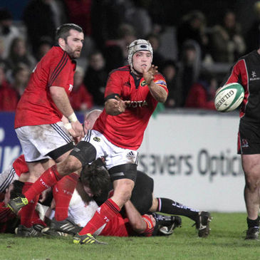 Munster 'A' beat Ulster Ravens in the last round