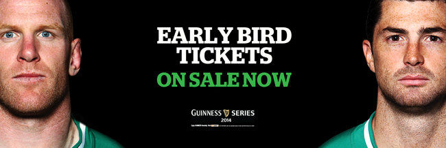 Early Bird tickets on sale now for November