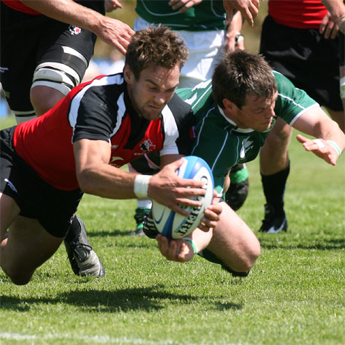 Irish Rugby Canada 6 Ireland 25 Thunderbird Stadium Vancouver