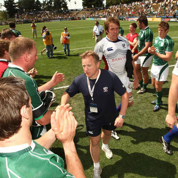 Eddie O'Sullivan's USA side have qualified for the 2011 Rugby World Cup