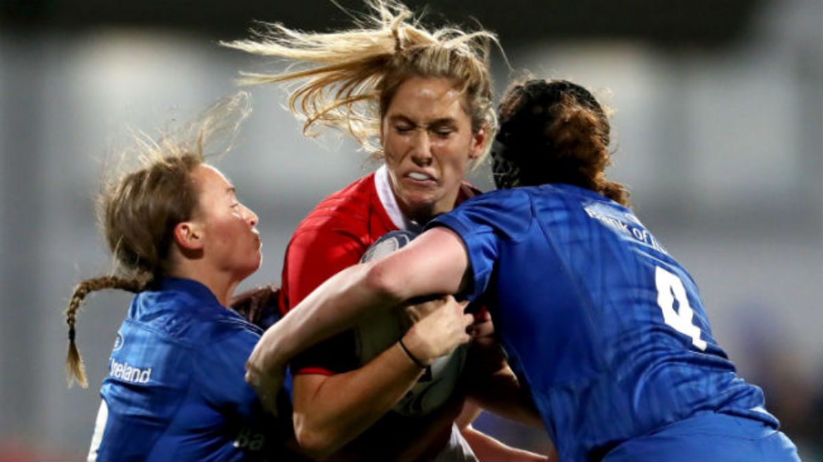 Irish Rugby TV: Leinster v Munster Women's Interpro Highlights