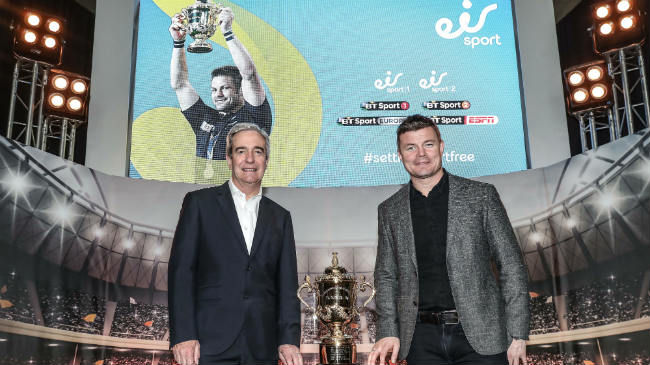 Eir Sport Named RWC 2019 Rights Holder In Ireland