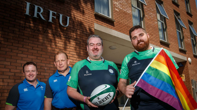 The IRFU are supporting the Emerald Warriors' hosting of the Union Cup