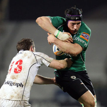Connacht's Eoghan Grace in action against Ulster