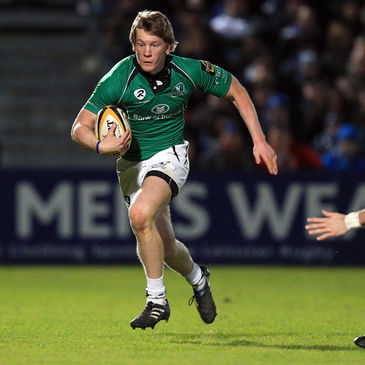 Eoin Griffin in action against Leinster last Saturday