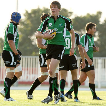 Young centre/winger Eoin Griffin has been included in the Connacht squad