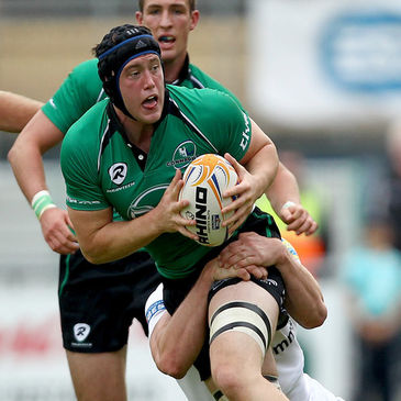 Eoin McKeon pictured in action for Connacht