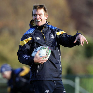 Eoin Reddan trained with the Leinster squad today