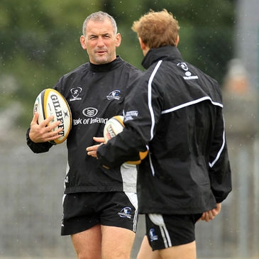 Connacht's Eric Elwood and Mike Forshaw