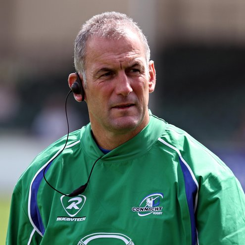 Eric Elwood is in his final season as Connacht head coach