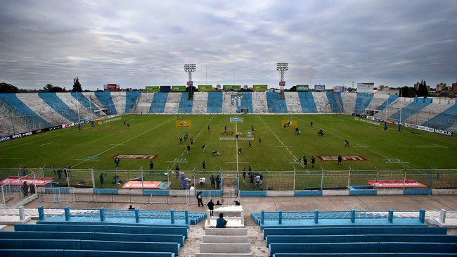The stadium in Tucumán