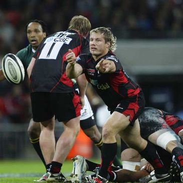 Hooker Ethienne Reynecke in action for Saracens