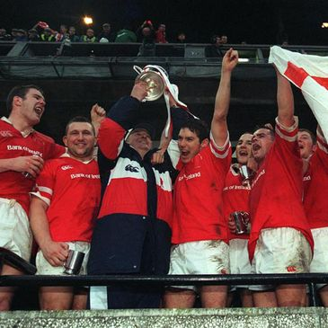 Ulster were Ireland's first European kings back in 1999