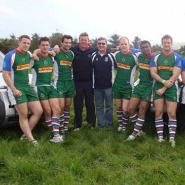 The Exiles Sevens squad competed in Kinsale recently
