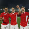 The young Welsh back row unit of Toby Faletau, Sam Warburton and Dan Lydiate outshone their Irish counterparts during the 12-point success for Warren Gatland's side