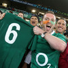 Stephen Ferris gave his number 6 jersey to a lucky fan in the crowd. The result also marked Ireland's first win over Australia on Southern Hemisphere soil since 1979