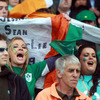 These supporters were hoping Ireland could make it a hat-trick of wins in Pool C heading into next weekend's encounter with Italy in Dunedin