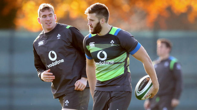Farrell And McCloskey To Start For Ireland Against Fiji