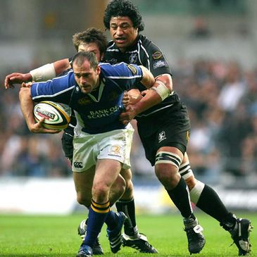 Leinster's captain and top points scorer Felipe Contepomi
