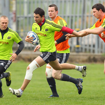 Felix Jones carries the ball forward at Cork IT