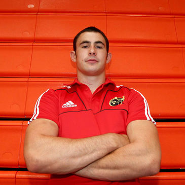 Munster full-back/winger Felix Jones