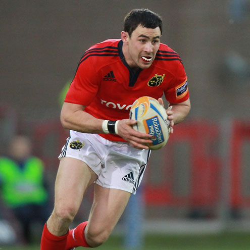 Munster full-back Felix Jones