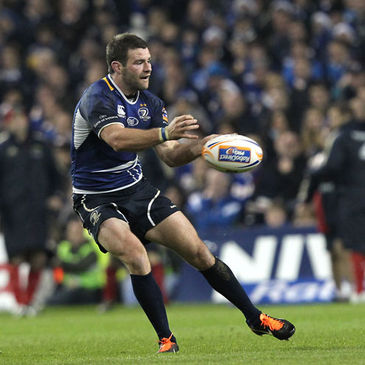 Fergus McFadden in action for Leinster