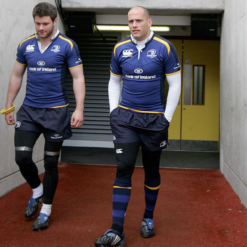 Leinster Captain's Run Session, Croke Park, Thursday, April 30, 2009