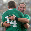 Fergus McFadden and Paddy Wallace were both making their first starts of the tournament in New Zealand, with Wallace forming a centre partnership with Keith Earls