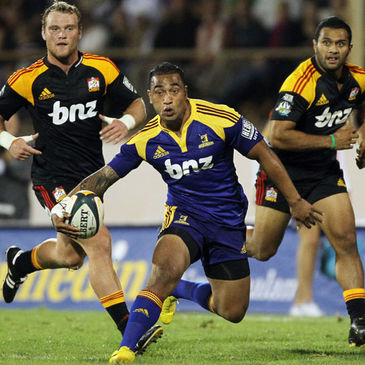 Fetu'u Vainikolo in action for the Highlanders