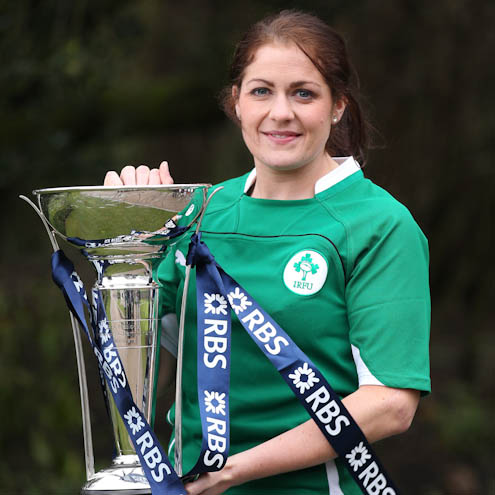 Ireland Women's captain Fiona Coghlan