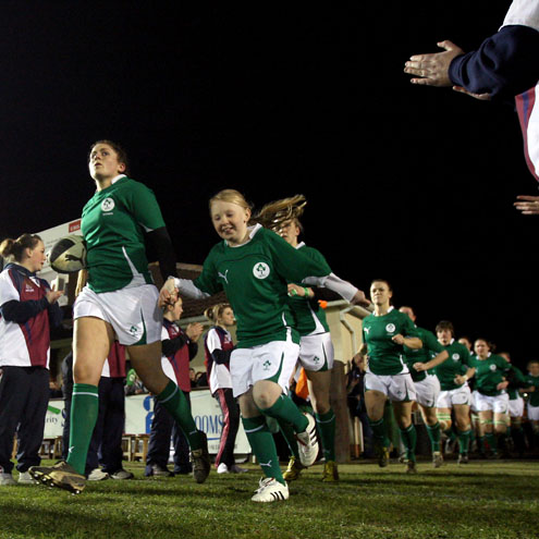 Ireland Women 0 England Women 31, Ashbourne RFC, Friday, March 18, 2011