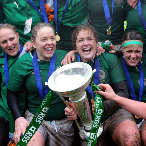The Ireland Women won the Grand Slam last weekend