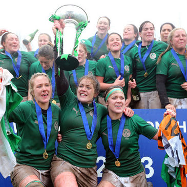 The Ireland Women won the Grand Slam this year