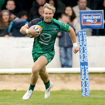 Connacht winger Fionn Carr