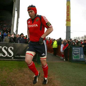Anthony Foley will captain Munster against Glasgow