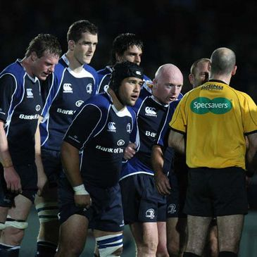 The Leinster forwards