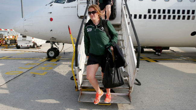 Ireland Women Arrive In Paris For Women's Rugby World Cup