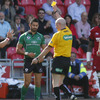 Unfortunately Connacht had two players sin-binned at Parc y Scarlets. Frank Murphy saw yellow for a high tackle on Scarlets full-back Andy Fenby