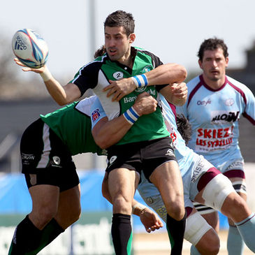 Connacht's Frank Murphy in action against Bourgoin