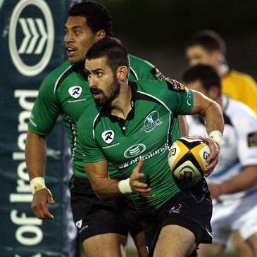 Frank Murphy in action for Connacht