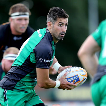 Connacht scrum half Frank Murphy