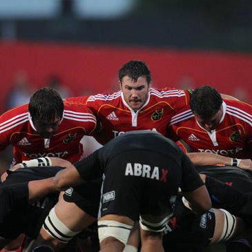 Munster's match against Aironi has been postponed