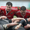 Damien Varley and Wian du Preez formed two-thirds of Munster's starting front row for the clash with Aironi