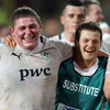 The smiles say it all as prop Tadhg Furlong and winger Sam Coghlan Murray celebrate taking the scalp of one of the southern Hemisphere's big three