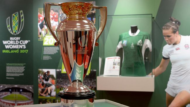 Women's Rugby World Cup Exhibition Opens At Kingspan Stadium