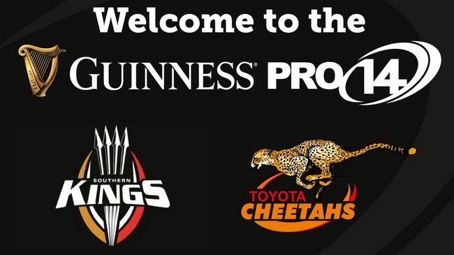 GUINNESS PRO14 Welcomes Toyota Cheetahs And Southern Kings