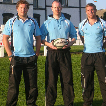 The new Galwegians Under-21 coaches