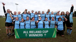 Galwegians Women 26 Highfield Women 18, Tullamore RFC, Sunday, March 30, 2014