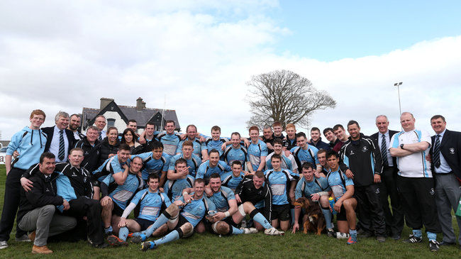 Galwegians celebrate their league success